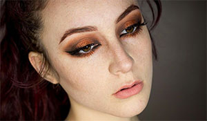 BB Trend Alert—Copper eye makeup