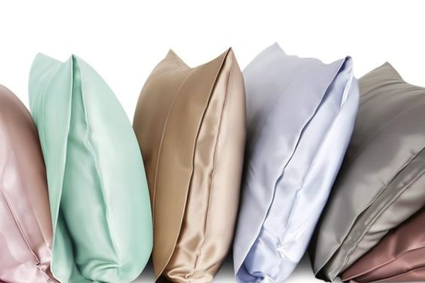 Silk pillow cases and scarves