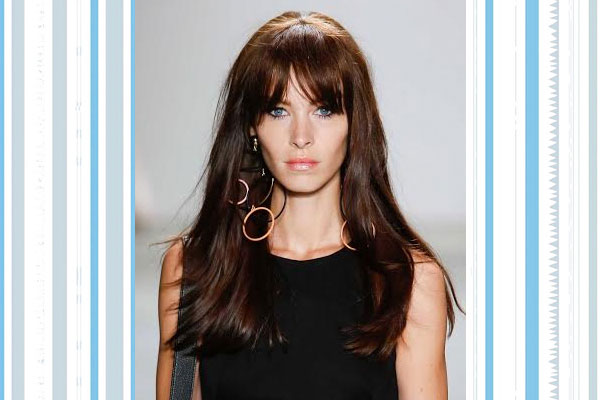curtain bangs hairstyles for big foreheads