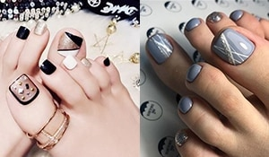 Ridiculously cute toe nail art that you won't be able to resist