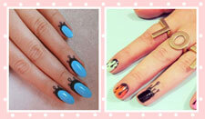 BB TREND ALERT—CUTICLE NAIL ART