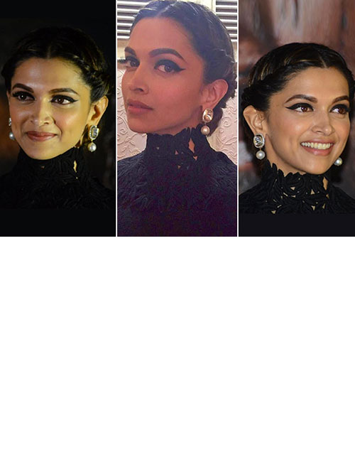 Decoding Deepika Padukone's look at the Bajirao Mastani launch