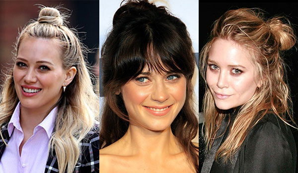 DECODING THE HALF BUN, THIS SEASON'S BIGGEST HAIR TREND