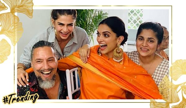First look from Deepika Padukone and Ranveer Singh's wedding celebrations!