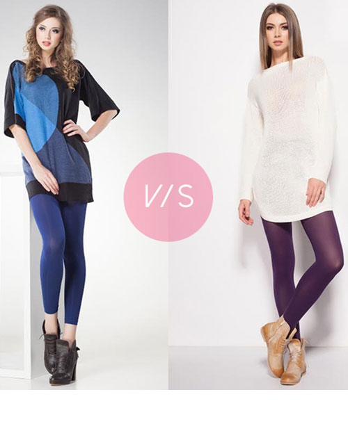 DO YOU KNOW THE DIFFERENCE BETWEEN LEGGINGS AND TIGHTS?