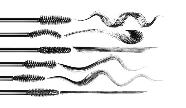 5 different kinds of mascara wands and what they do to your lashes...