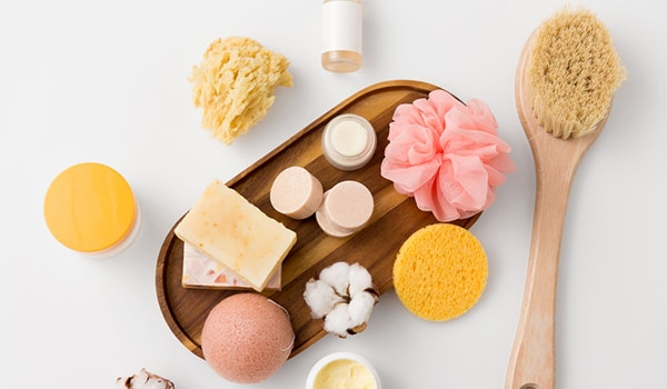 Different types of konjac sponges — and how to pick the right one
