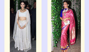 CELEB OUTFIT INSPIRATION FOR DIWALI PARTIES
