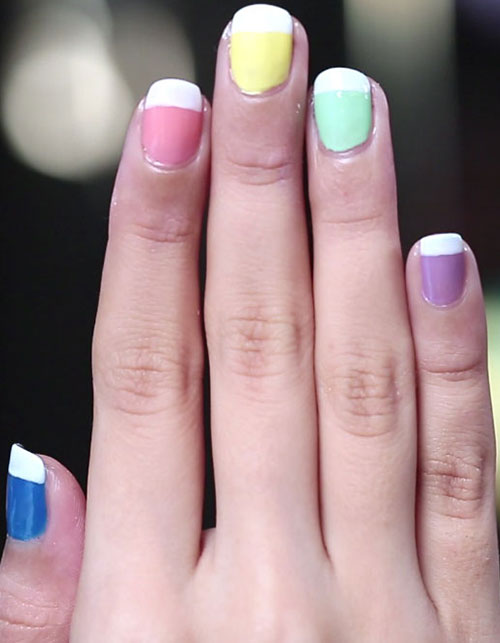 On Trend With Nail Art : Pantone Nails