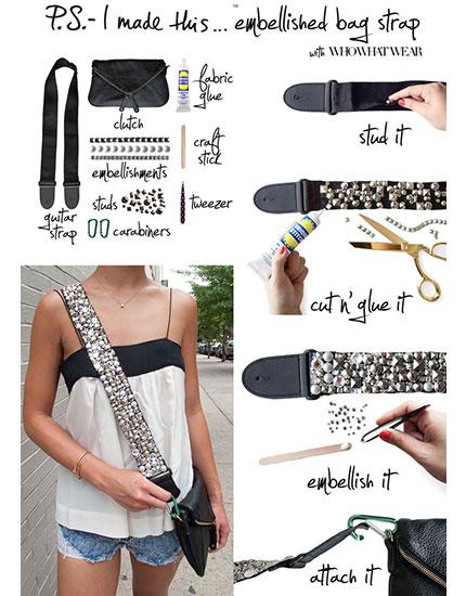 3 quick diys to upgrade your handbag bebeautiful