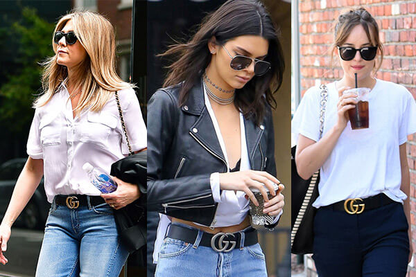 ee87f3f5a3d The Celebrity Style Staple—the Gucci Belt