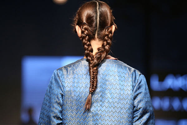 Double-cum-single braids at Akaaro by Gaurav Jai Gupta