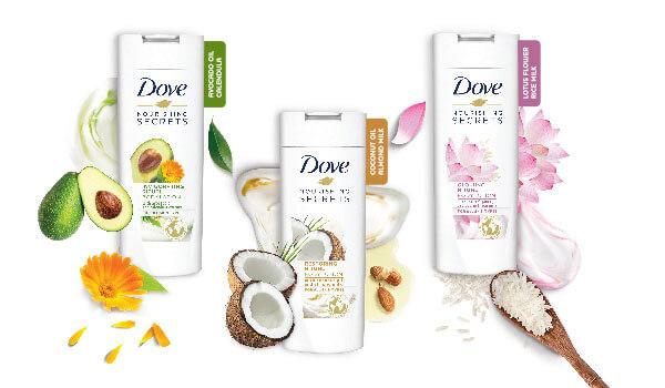 Dove Nourishing Secrets Body Lotion Bebeautiful