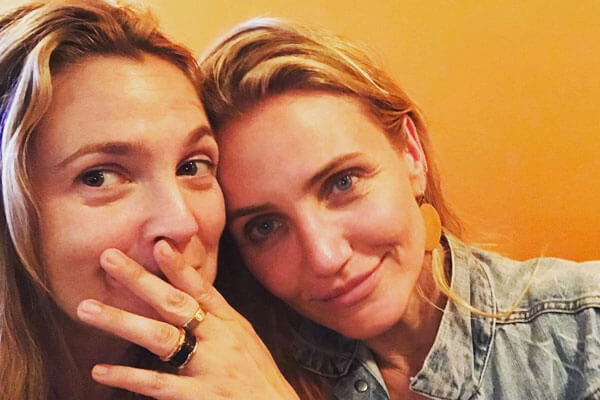 6. Drew Barrymore and Cameron Diaz