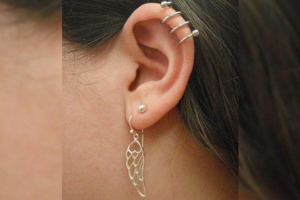 5. Ear Weaving Piercing