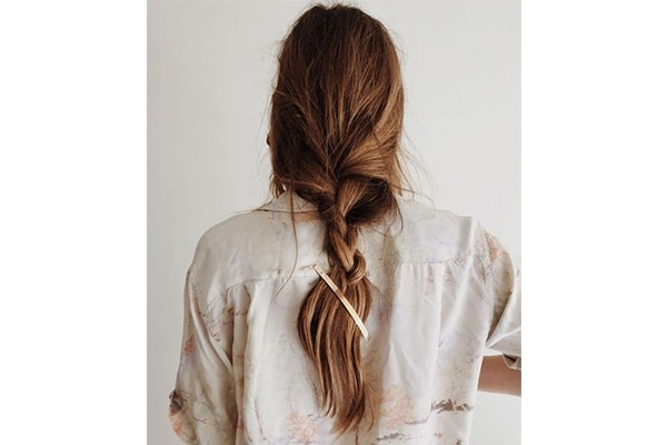 Lazy girl braids