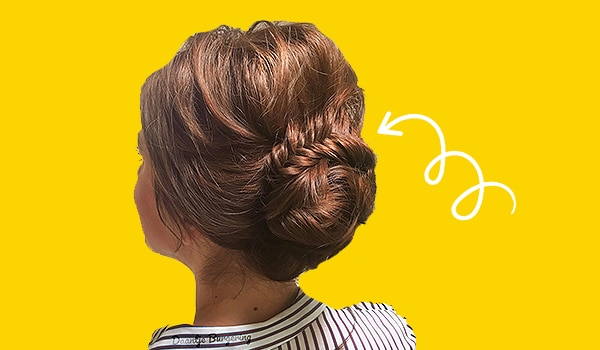How to ace the chic fishtail braided bun in a few easy steps