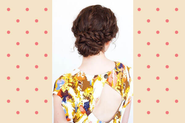 Easy Hairstyle For Curly Hair