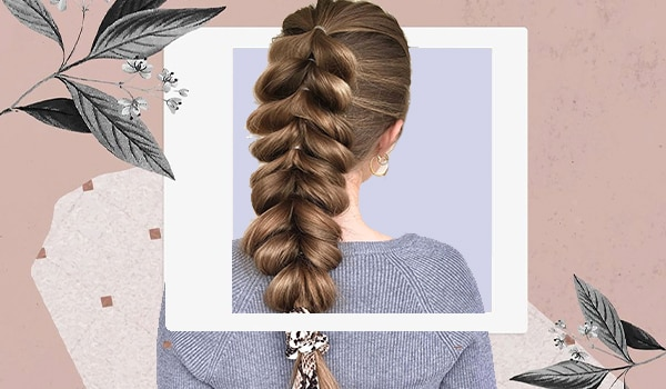How to ace the popular pull-through braid in 5 easy steps