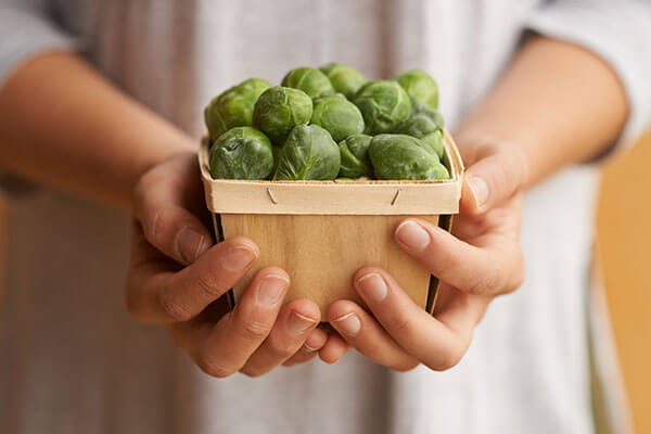 Eat more Brussels sprouts