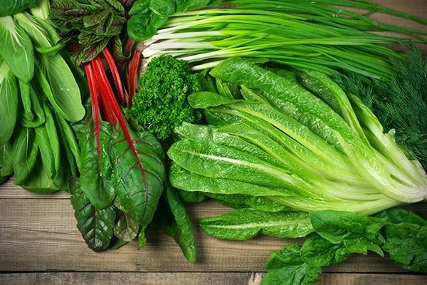 पत्तेदार सब्ज़ियां