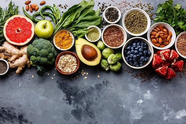 Eat antioxidant rich food