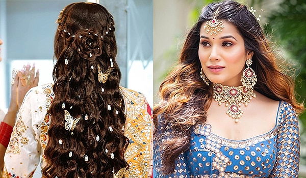 11 elegant and chic engagement hairstyle ideas