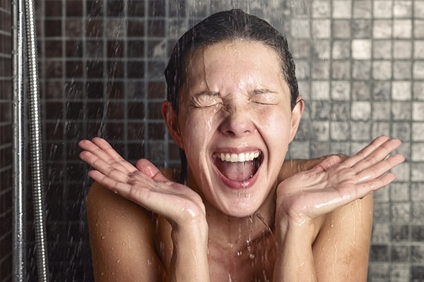 Avoid long and hot showers