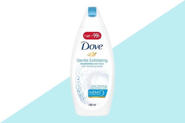 Use an exfoliating body wash