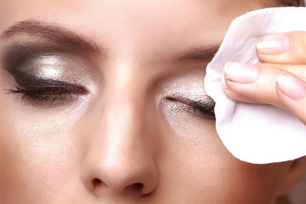 Remove your eye makeup properly.