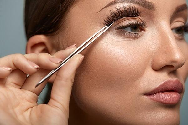 Avoid wearing false lashes too often!