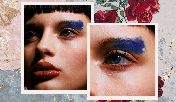 Wearing eyeshadow past eyebrow is the latest makeup trend (yes, really!)