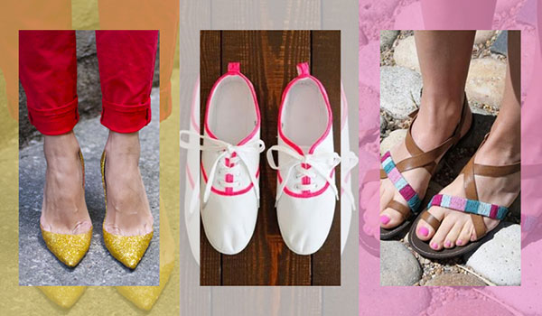 5 FAB & TOTALLY DOABLE SHOE MAKEOVERS