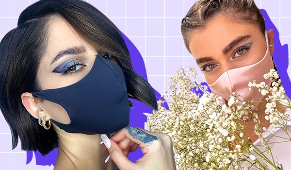 Striking eye makeup looks to flaunt when wearing a face mask (or not)