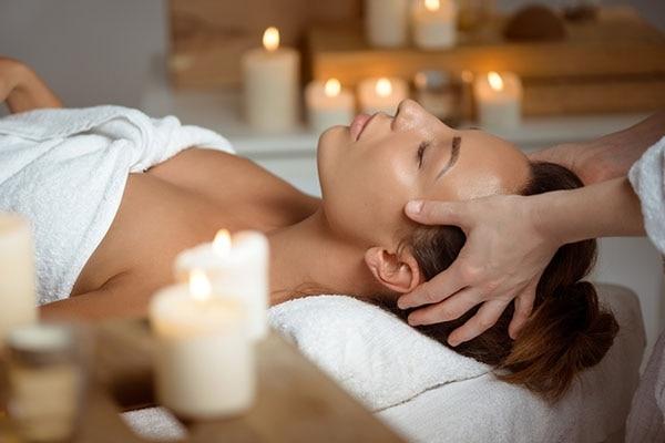 Forehead Massage