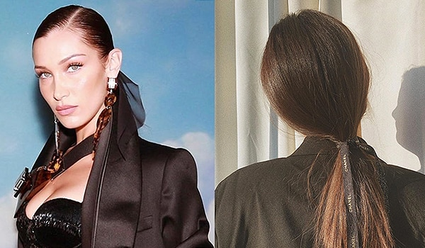 The no-fuss low ponytail is high on this year's fall trends