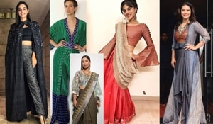 Give a contemporary twist to your traditional attire this festive season