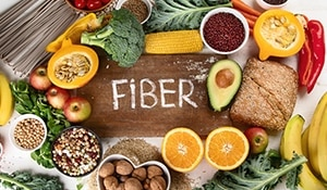 Include fibre rich foods in your diet for soft and supple skin