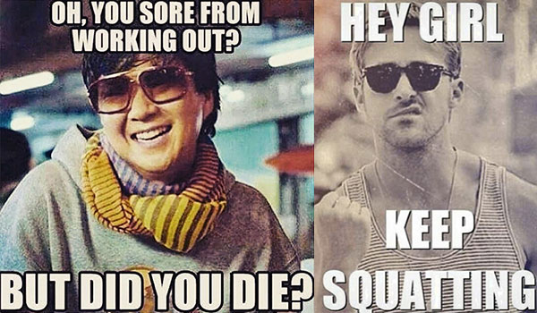 FITNESS MEMES THAT'LL MAKE YOU LAUGH