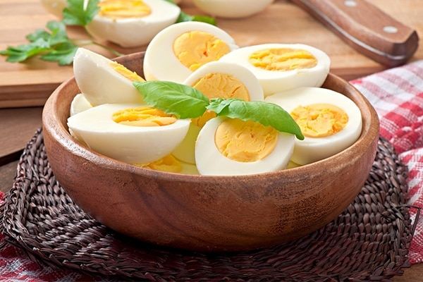 Eggs diet for healthy hair