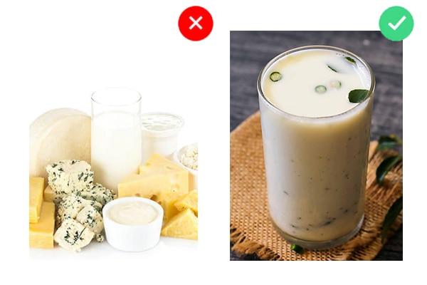 ये न खाएं: डेयरी प्रोडक्ट्स