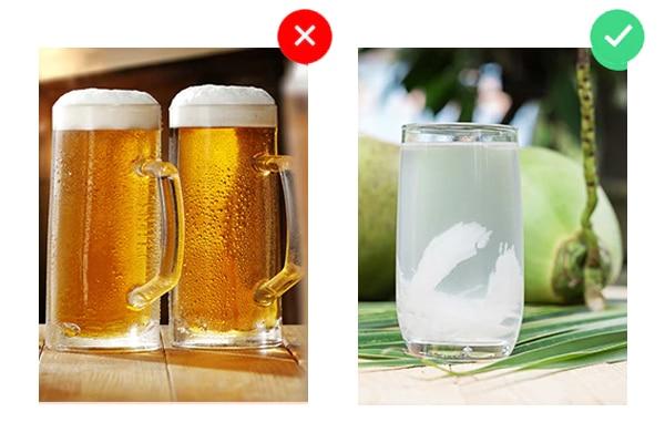 ये न पिएं: ऐल्कहॉल
