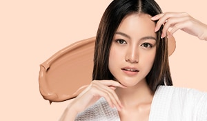 Try this no-foundation makeup look for a natural, skin-like finish