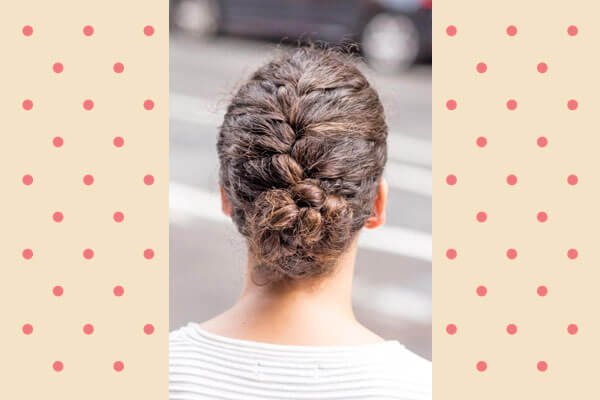 French Braid Hairstyle For Curly Hair
