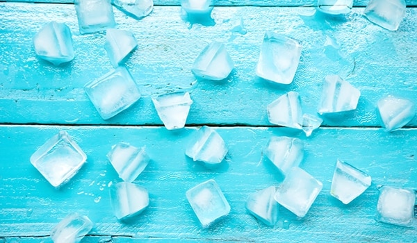 Refreshing ice cube beauty hacks for summer