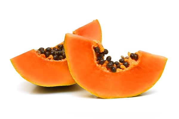 Papaya peel
