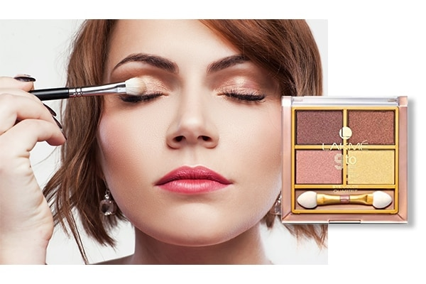 Keep your eyeshadow colours neutral