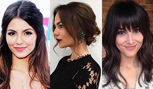 Try these genius hair tricks to make your face look slimmer