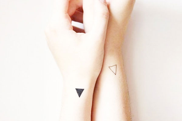 geometric patterns tattoo