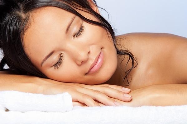 Sleep with your hair wet